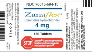 When can you buy and use Zanaflex?