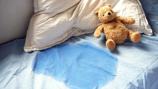 What is the cause of nocturnal enuresis (bedwetting) and how to treat it?