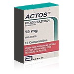 Actos (Pioglitazone 15 mg)