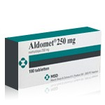 Aldomet (Methyldopa 250 mg)