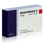 Minipress (Prazosin 1 mg)